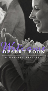 Desert Born Midwife Services - Website Design