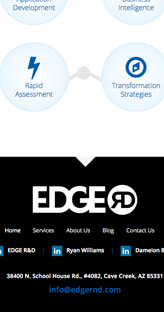 Edge R&D Tech Solutions - Website