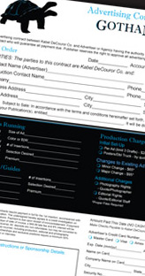 Gotham's Interactive PDF design and creation