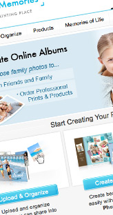 Online commerce website design and code