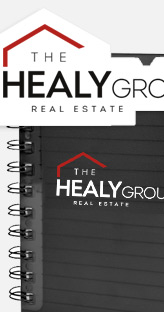 The Healy Group - FOR SALE Sign and marketing collateral design
