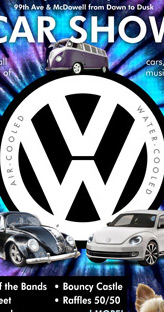VW event poster design